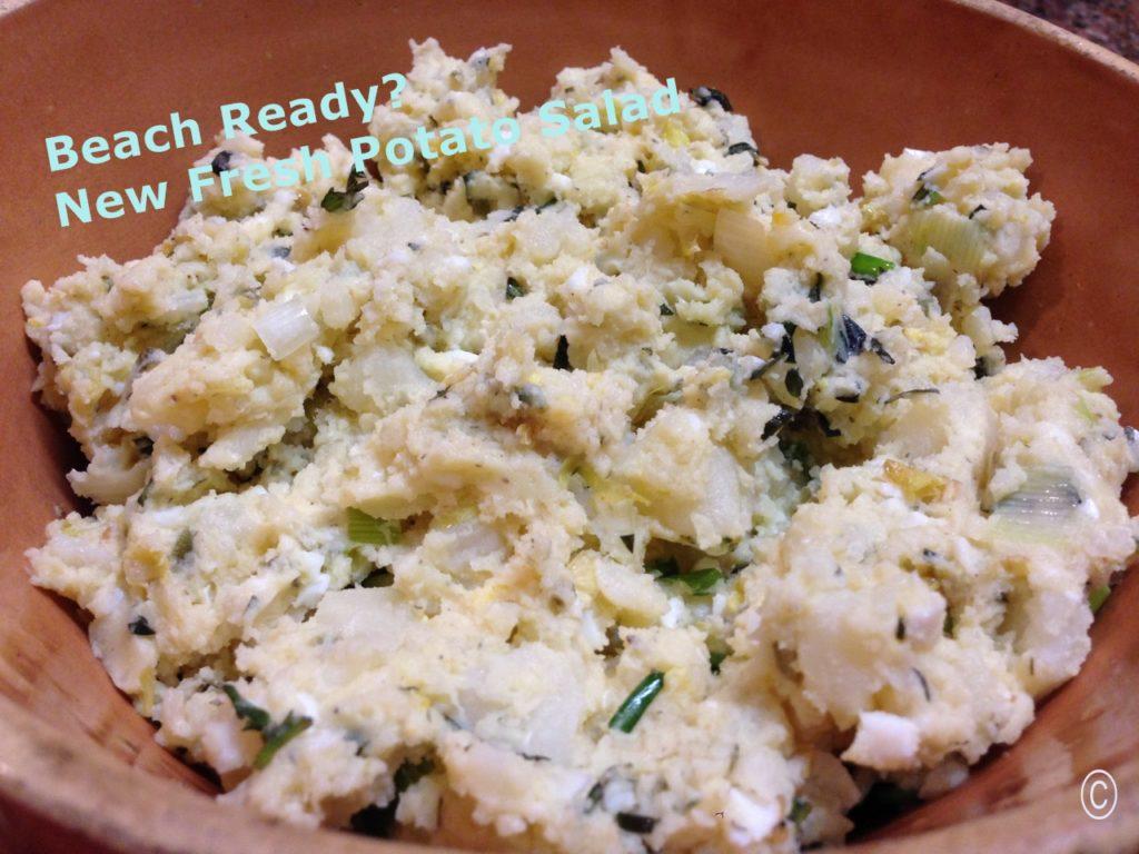 Beach Ready? New Fresh Potato Salad www.diningwithmimi.com