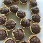 Chocolate Heavenly Mini Bite Tarts Can you slice dice and whip it good? www.diningwithmimi.com