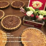 Photo of Southern Pies and Florals in Cigar Box www.diningwithmimi.com