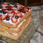 Au revoir covid, Berry Me Naked Cake on vintage cakeplate www.diningwithmimi.com.jpg